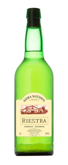 Riestra Sidra Natural Asturiana - Hard Apple Cider