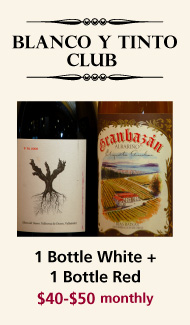 Blanco y Tinto Monthly Wine Club