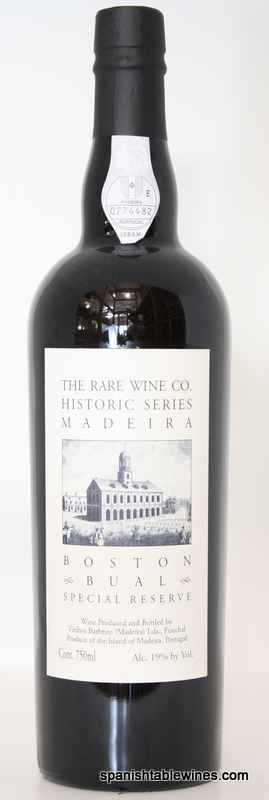 Boston Bual - Rare Wine Co Historic Series Madeira