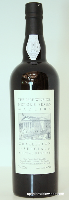 Charleston Sercial - Rare Wine Co Historic Series Madeira