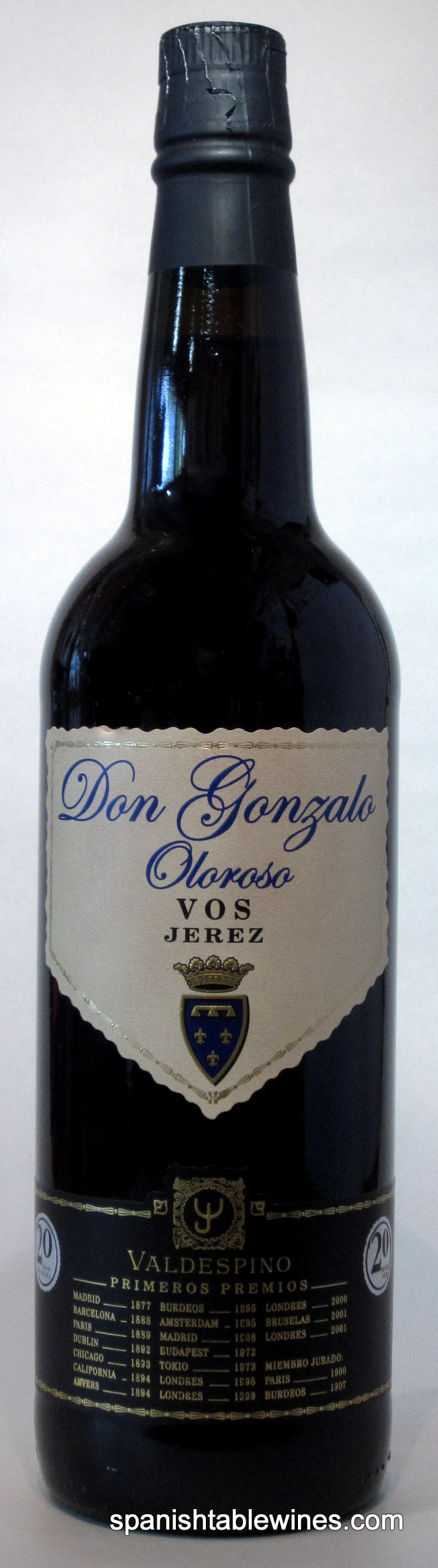 Valdespino Don Gonzalo Oloroso VOS 20 Years - Jerez