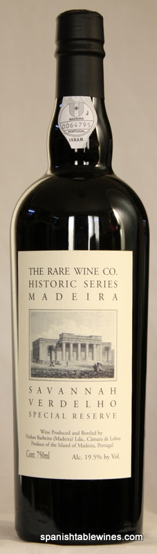 Rare Wine Co. Historic Series 'Savannah' Verdelho - Madeira