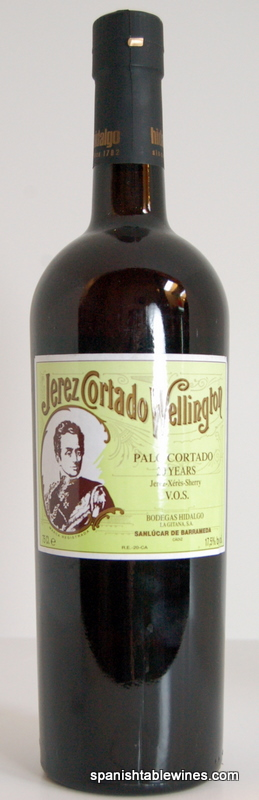 Wellington 20 Year Palo Cortado VOS 500ml - Hidalgo